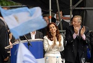 Español: Elecciones de 2007 en Argentina, Cris...