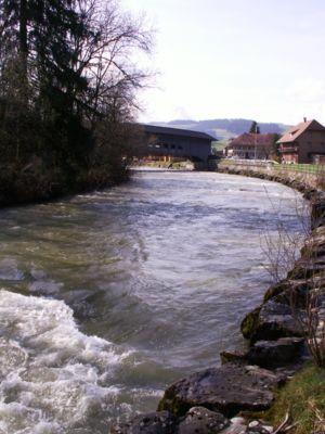 The Emme River near Schüpbach.