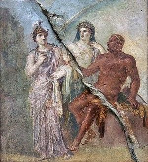 Hall of the Augustals (Herculaneum) - Hercules...