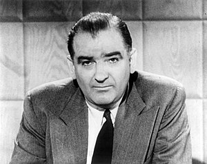 Joseph Raymond McCarthy. Español: Este persona...