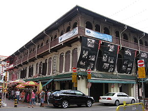 Chinatown, Singapore was an enclave for the ea...