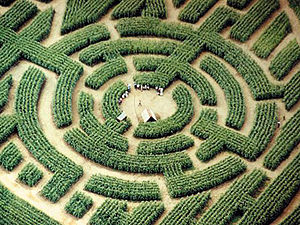 The labyrinth of Barvaux, Durbuy