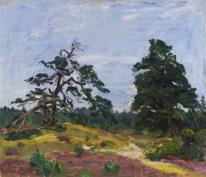 File:Max Slevogt Heide und Bäume 1910.jpg