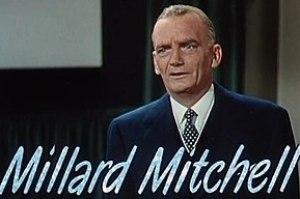Millard Mitchell dans le film-annonce de Chantons sous la pluie (via Wikipedia)