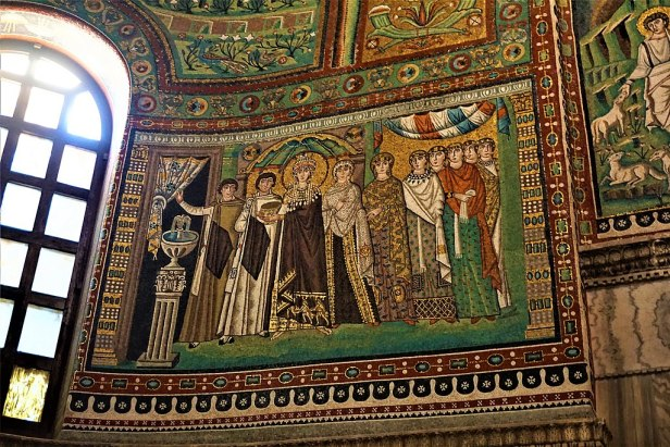 Mosaics of Theodora - Joy of Museums - Basilica of San Vitale