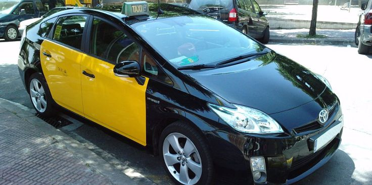 Prius Taxi Barcelona