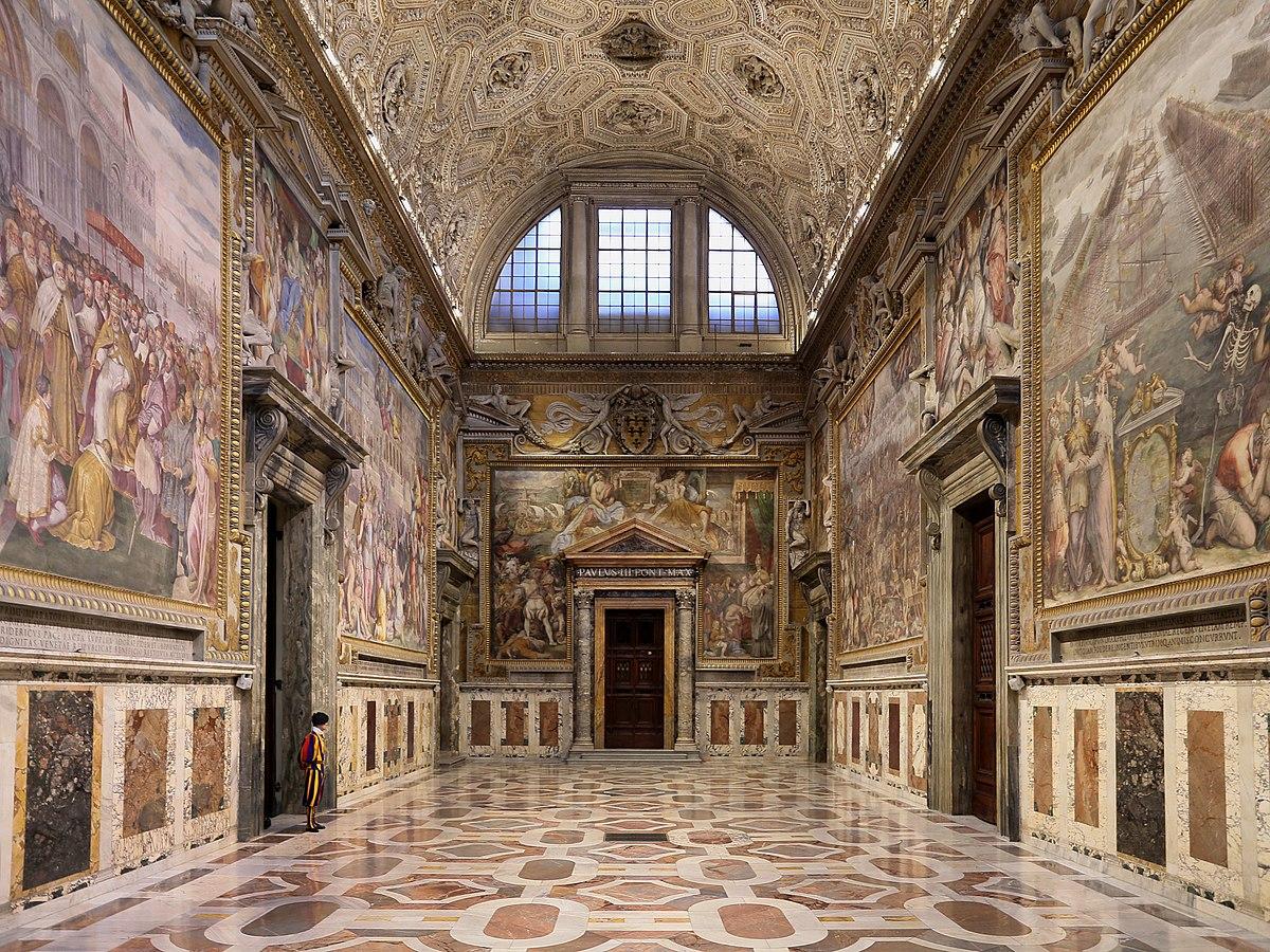 Sala Regia Vatican Wikipedia