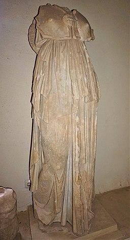 Statue of Athena - Archaeological Museum of Epidaurus