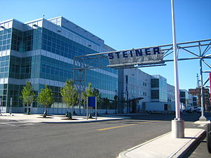 Steiner Studios in Brooklyn, New York