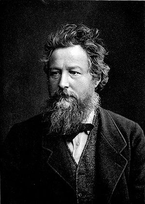 William Morris, who strongly opposed restoration