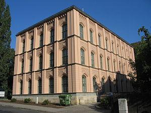 Deutsch: Baugewerkeschule in Zittau