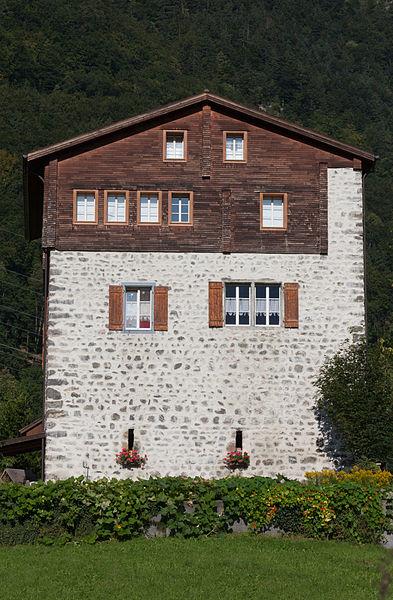 Der Wohnturm Schweinsberg in Attinghausen