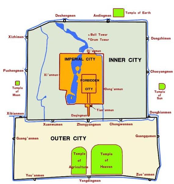 File:Beijing city wall map.jpg