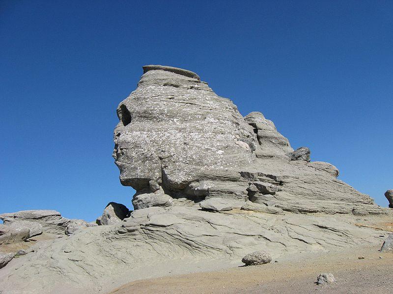 File:Bucegi Sphinx - Romania - July 2009.jpg