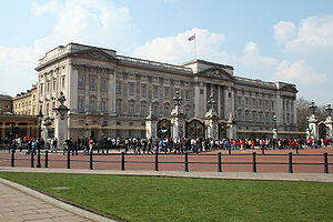 The Buckingham Palace in England.