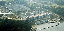 View of power plant