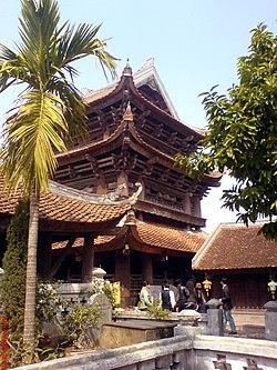 Gác chuông chùa Keo Thái Bình
