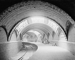 City Hall subway station, New York
