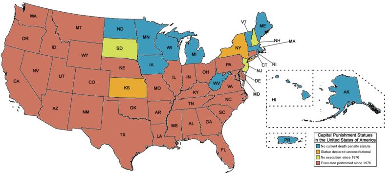peine de mort aux États-Unis