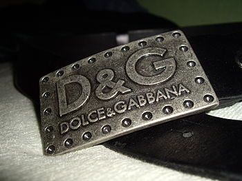 DolceAndGabbana belt fake