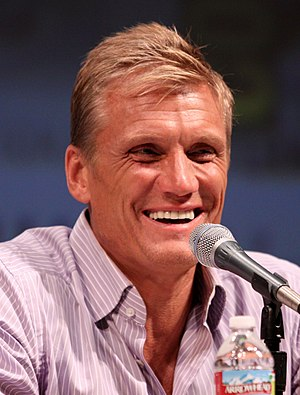 English: Dolph Lundgren at the 2010 Comic Con ...
