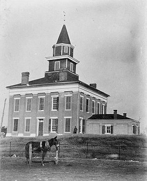 Lawrence County Courthouse, Courthous...