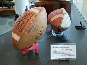 Marshall Faulk's September 14, 1991 game ball ...