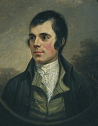 Portrait of Robert Burns, 1787.