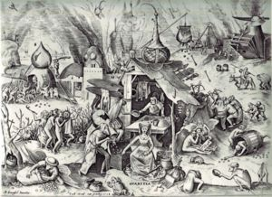 Pieter Bruegel the Elder: The Seven Deadly Sin...