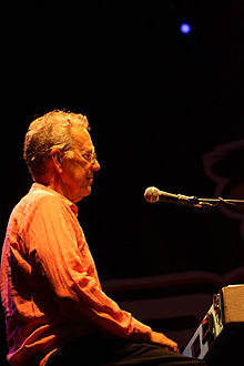 Ray Manzarek on stage
