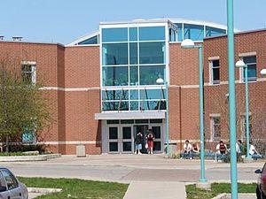 English: Picture of Saltfleet district highschool