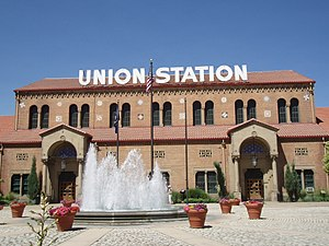 English: Union Station in Ogden, Utah.