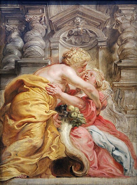 File:0 La Paix embrassant l'Abondance - P.P Rubens - Yale center for British Art.JPG