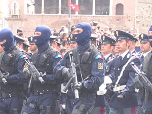 NOCS of the Italian Police