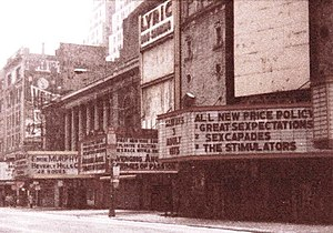 42nd St., Manhattan in disrepair in 1985, befo...