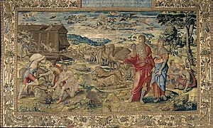 The Entry of the Animals into Noah's Ark. Seri...