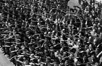 Image result for man refusing to give nazi salute