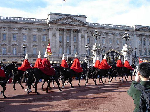 Buckingham Palace change
