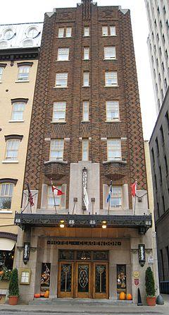 Clarendon Hotel Wikipedia