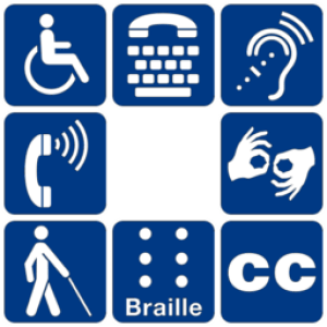 Disability symbols and accessibility