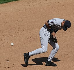 Derek Jeter Error Shortstop baseball oops mistake