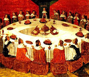 King Arthur and the Knights of the Round Table...