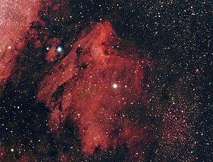 English: Pelican Nebula, NGC 7000