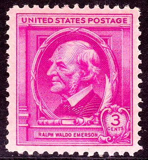 English: Ralph_Waldo_Emerson_1940_Issue-3c.jpg...