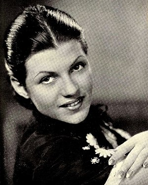 Publicity photo of Rita Hayworth (as Rita Cans...