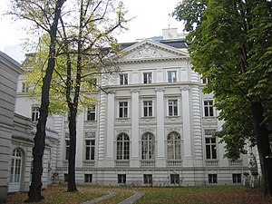 Deutsch: Das Palais Rothschild (Metternichgass...