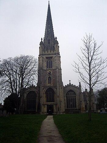 St Mary's Church, Saffron Walden, Essex