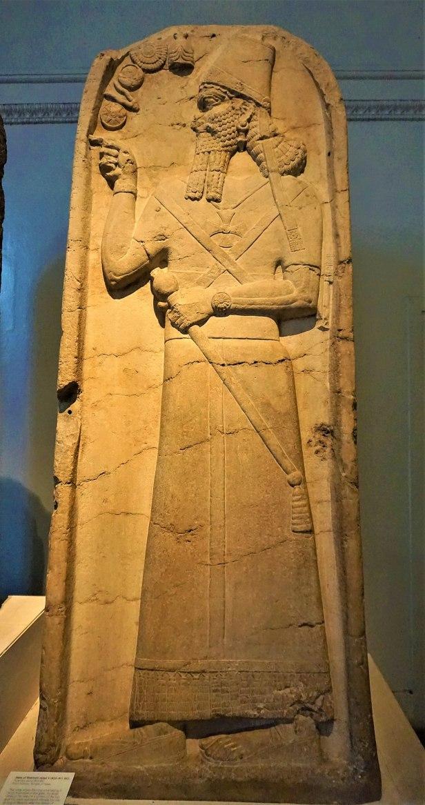 Stela of Shamshi-Adad V - British Museum - Joy of Museums