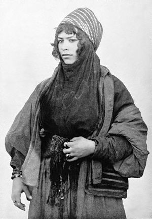 Syrian Bedouin woman, at the World's Columbian...