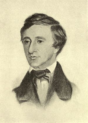 English: Thoreau Age 37